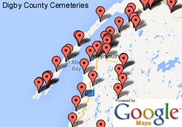 Digby County Cemeteries