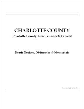 Heritage Charlotte: Charlotte County - Death Notices, Obituaries & Memorials